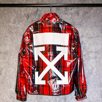 OFF-WHITE / ANORAK CHECK JACKET