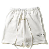 ESSENTIALS / RUBBER TAG SWEAT SHORTS