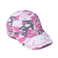 ANTI SOCIAL SOCIAL CLUB  50DEGREES CAMO CAP / PINK