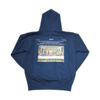 AMOUR / THE LAST RAPPER PULLOVER HOODIE / NAVY