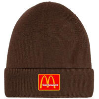 Cactus Jack×McDonald's / CJ ARCHES BEANIE - BROWN -