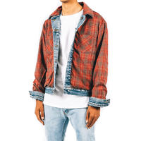mnml / REVERSIBLE TRUCK JACKET