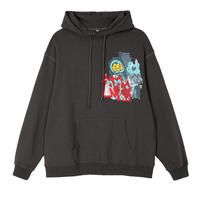 MAISON EMERALD / CLOUD SMILEY WASHED HOODIE