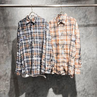 AMOUR / GRAFFITI CHECK SHIRT PART 2