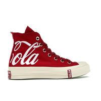 Kith x Coca Cola Converse Chuck Taylor All-Star 70s Hi / RED