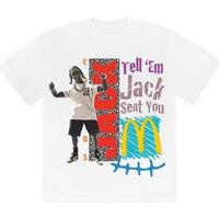 Cactus Jack×McDonald's / JACK SMILE T-SHIRT