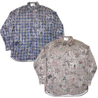 GRAFFITI CHECK SHIRT PART 1
