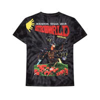 TRAVIS SCOTT ASTRO WORLD / FESTIVAL TIE DYE TEE