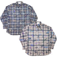 GRAFFITI CHECK SHIRT PART 2