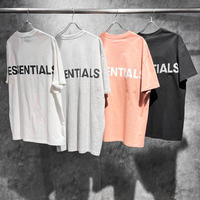 ESSENTIALS / REFLECTIVE LOGO SS TEE