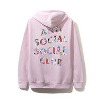 ANTI SOCIAL SOCIAL CLUB / ASSC X BT21 Collab - Blended Pink Hoodie