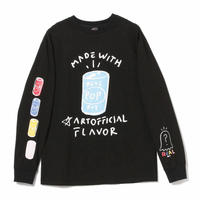 REAL BUY / POP LONG SLEEVE TEE