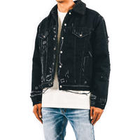mnml / SHERPA DENIM TRUCKER