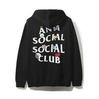 ANTI SOCIAL SOCIAL CLUB / ASSC X BT21 Collab - Peekaboo Black Hoodie