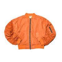 URKOOL / OVER SIZED BOMBER JACKET / ORANGE
