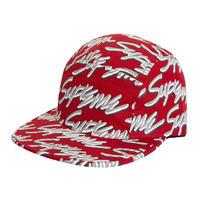 Supreme / SIGNATURE SCRIPT LOGO CAMP CAP