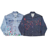REMAKE PAINTED DENIM JACKET