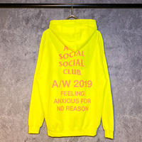 ANTI SOCIAL SOCIAL CLUB / FEELING ANXIOUS HOODIE