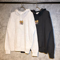 WWF × AMOUR PULLOVER HOODIE SMOKE