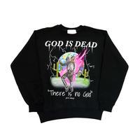 AMOUR × Rvvl World CREW SWEAT GOD IS DEAD
