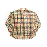 AMOUR / PAINTED CHECK SHIRT V2 / RED