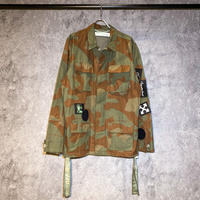 OFF-WHITE / CAMOFLAGE JACKET