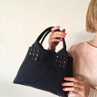canvas tote bag mini (black)