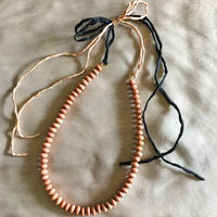 rosewood beads necklace (rondel)
