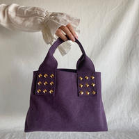 canvas tote bag (purple)