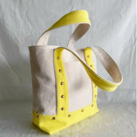 canvas tote bag medium (lemon)