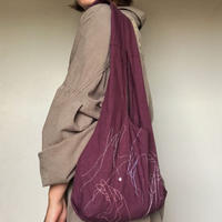 marche bag (wine red)