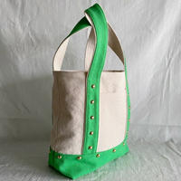 canvas tote bag medium (green)