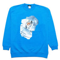 hotel breakfast sweat shirt (light blue)