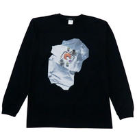 hotel breakfast long sleeve T-shirt (black)