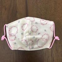 フラワー サークル pink baby mask