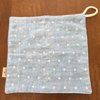 デニム風 ドット handkerchief