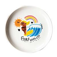 手描きの皿/surfholic