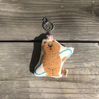 手描きマスコットキーホルダー/BEAR