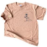 CHILLTシャツ・Pink brown