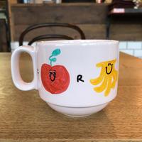 手描きのマグカップ/ FRUITS &FRUITS