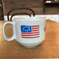 手描きのマグカップ/ USA,DOG&BOYS.USA