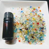 「虹のかけら」琉球ガラスカレット50g