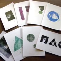 「Broken Glass Print」ポストカードセット(8枚組)