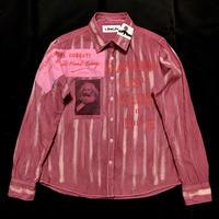 アナーキーシャツ レディースL  ピンク