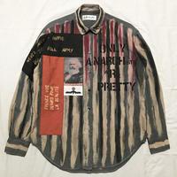 Newアナーキーシャツ メンズM  グレー046