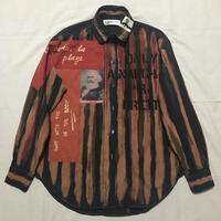 Newアナーキーシャツ メンズL  ディープブルー019