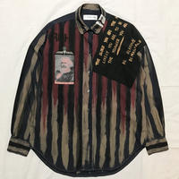 Newアナーキーシャツ メンズL  Dブルージョニー 052