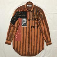 Newアナーキーシャツワンピース オレンジ022