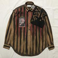 Newアナーキーシャツ メンズL  ダークジョニー075
