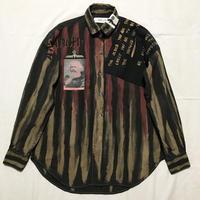 Newアナーキーシャツ メンズL  ダークジョニー 017
